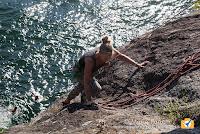 Palestra di roccia il Cinzianino a Maccagno