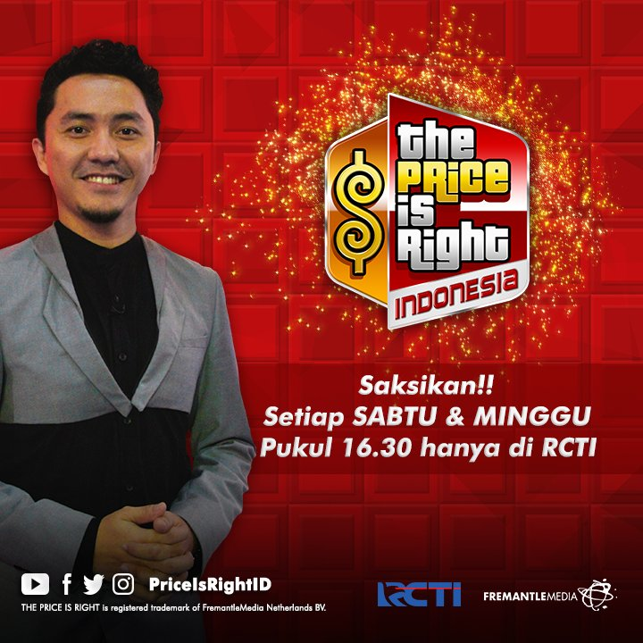 Cara Daftar The Price Is Right Indonesia di RCTI