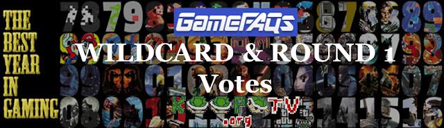 GameFAQs The Best Year in Gaming banner Wildcard Round 1 KoopaTV contest