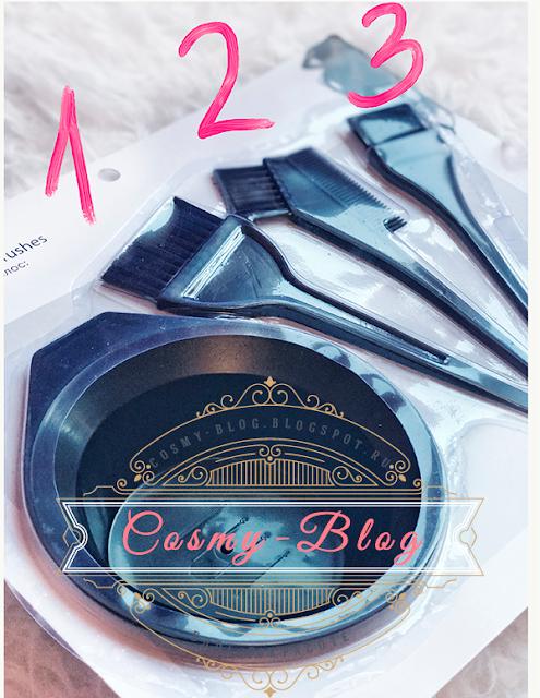 моди кисти миска окрашивание волос