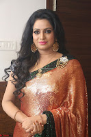 Udaya Bhanu lookssizzling in a Saree Choli at Gautam Nanda music launchi ~ Exclusive Celebrities Galleries 046.JPG