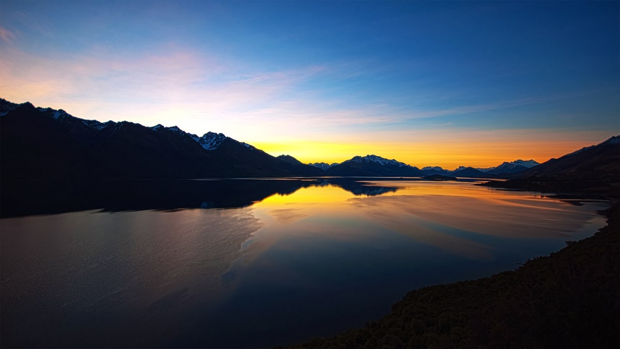 Lake Sunset Wallpapers Hd