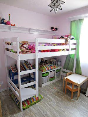 Limón Decó Habitaciones Con Litera Mydal De Ikea La Guinda De Limón