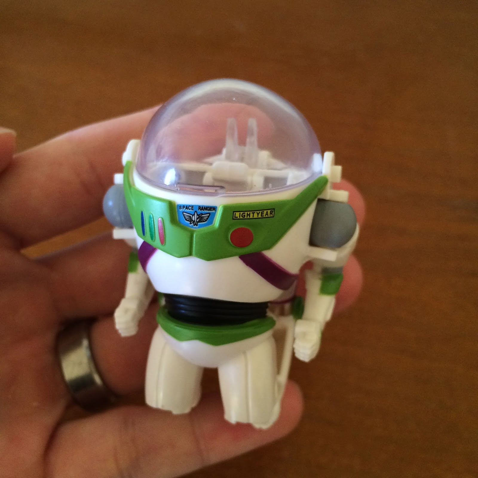 Toy story of terror 1 2 3 buzz lightyear of star command for sale - Hatch N Heroes Buzz Lightyear
