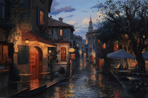 14-Magic-Evening-Evgeny-Lushpin-Scenes-of-Realistic-Night-Time-Paintings-www-designstack-co