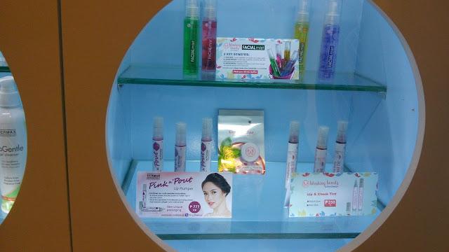 Facial mists, Pink n Pout Lip Plumper and Lip & Cheek Tint...