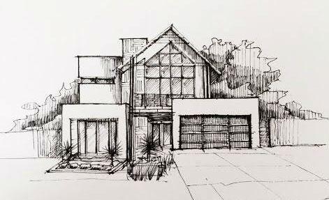 Sketsa Arsitektur