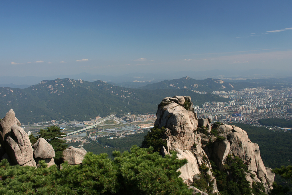 Bukhan Mountain, South Korea