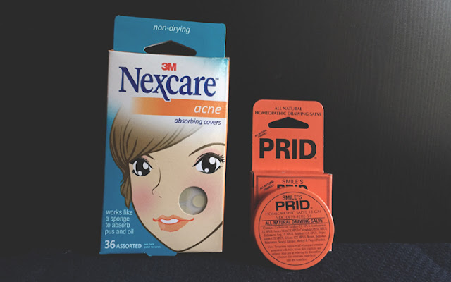 Prid vs Nexcare Acne Patches - Battle of the Holistic Spot Treatments