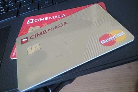 Bunga Tarik Tunai Kartu Kredit CIMB Niaga
