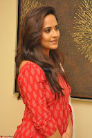 Anusuya in Red at Kalamandir Foundation 7th anniversary Celebrations ~  Actress Galleries 031.JPG