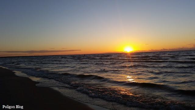 plaża, Jantar, Żuławy Wiślane, Bałtyk, Morze Bałtyckie
