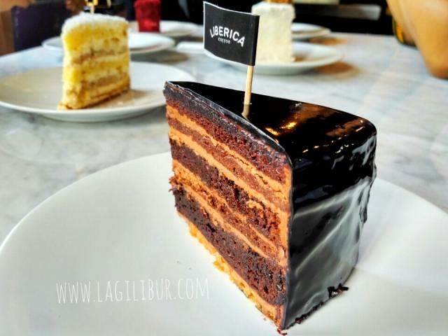 Triple Chocolate Cake Liberica Solo