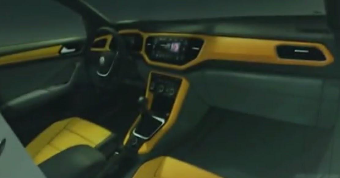 Volkswagen t roc imagem oficial do interior revelada for Interior volkswagen t roc