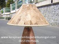 Lampu Stand Tembaga Kuningan | Spesialis Kerajinan Lampu Tembaga Kuningan