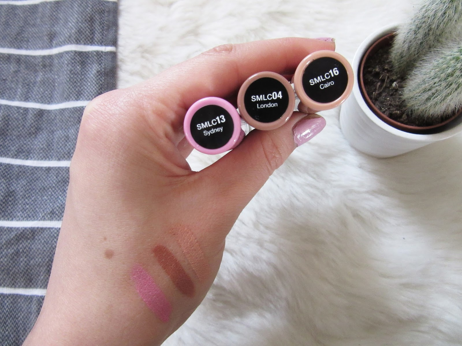 NYX Cosmetics Soft Matte Lip Creams // Syndey / London / Cairo // Beauty Blogger Lauren Rose