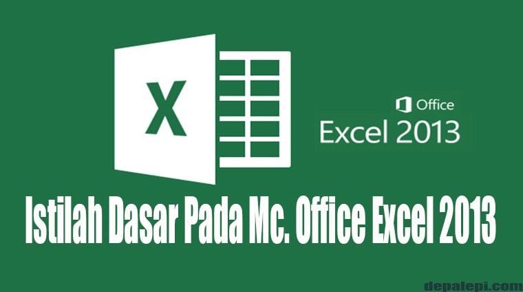 Istilah Istilah Dalam Microsoft Excel