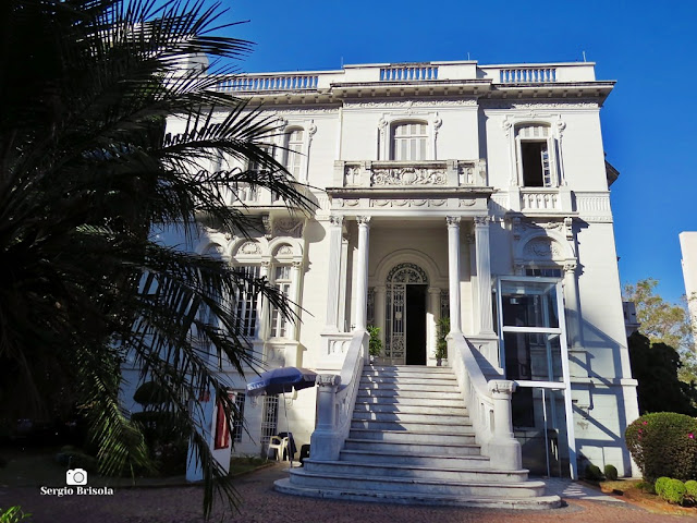 Fachada do Palacete Michel Assad - Ipiranga - São Paulo
