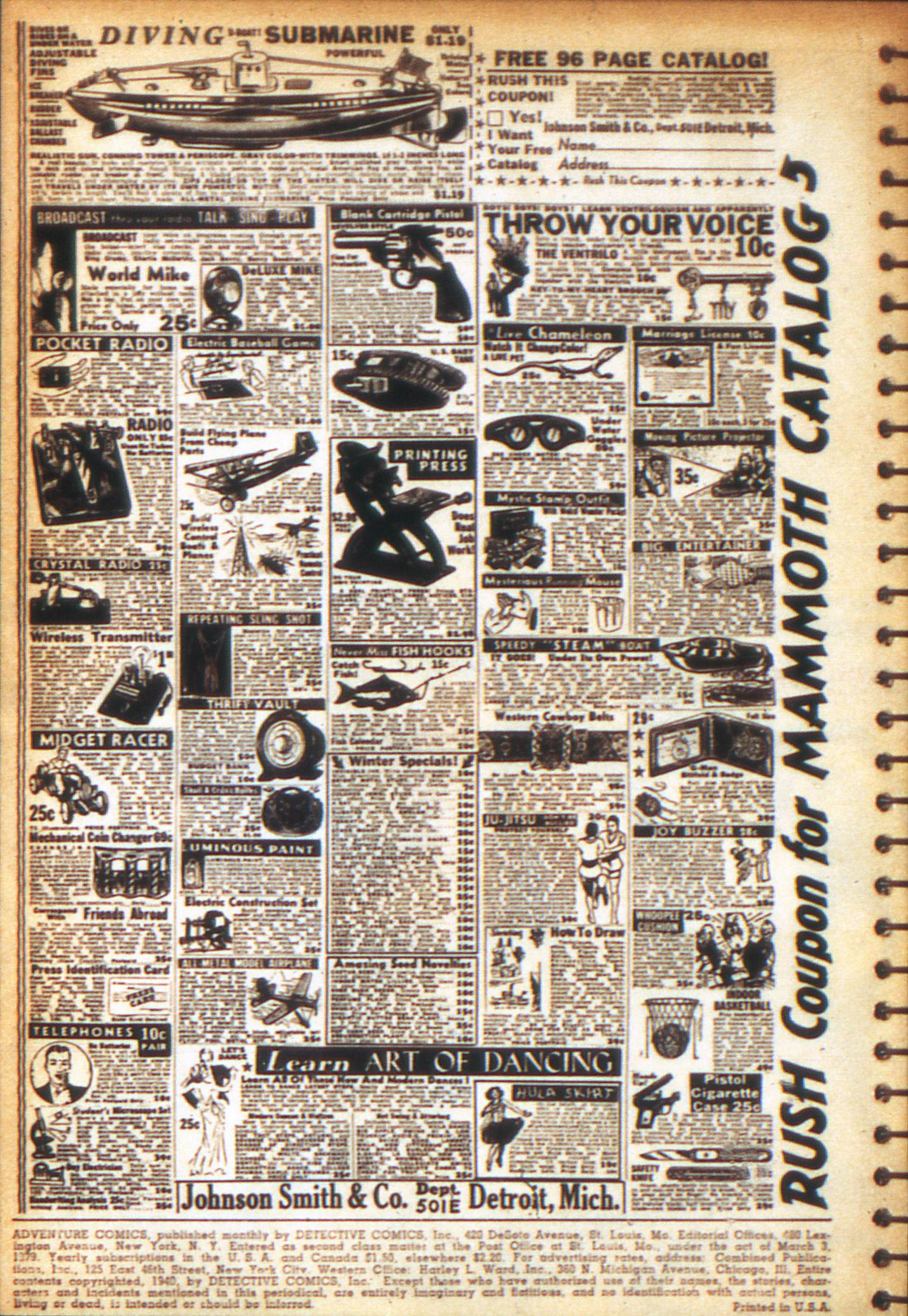Read online Adventure Comics (1938) comic -  Issue #49 - 2