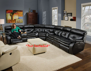 Queen Sectional Sleeper Sofa With Recliners : leather sectional with sleeper and recliner - Sectionals, Sofas & Couches