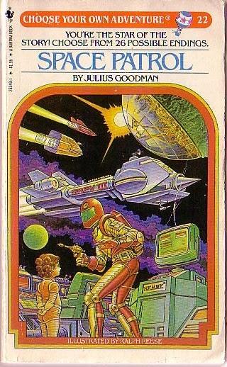 Paperback Hero Choose Your Own Adventure 22 Space Patrol
