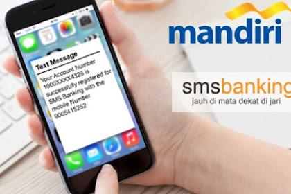 Cara Cek Saldo Rekening Mandiri via SMS
