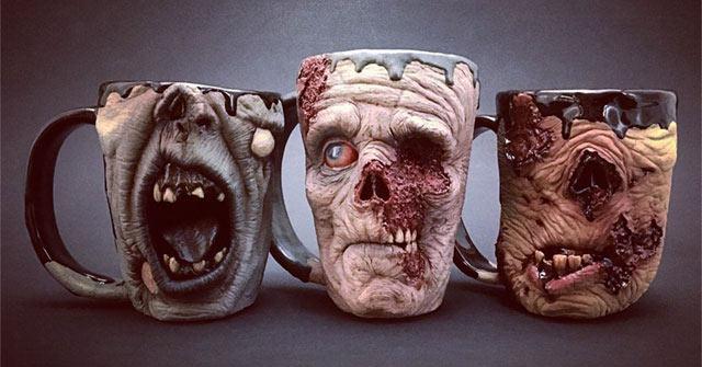 Tomate un susto con estas monstruosas tazas de café