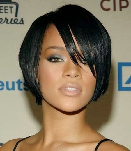 Remarkable Short Bob Hairstyles And Haircuts For Black Women Hairstyle Inspiration Daily Dogsangcom
