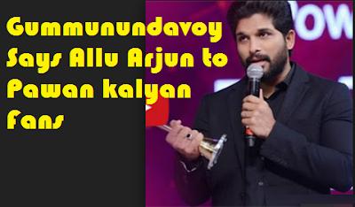 ALLU ARJUN Vs Pawan Kalyan Fans, Again Today AA Shouts at PK Fans