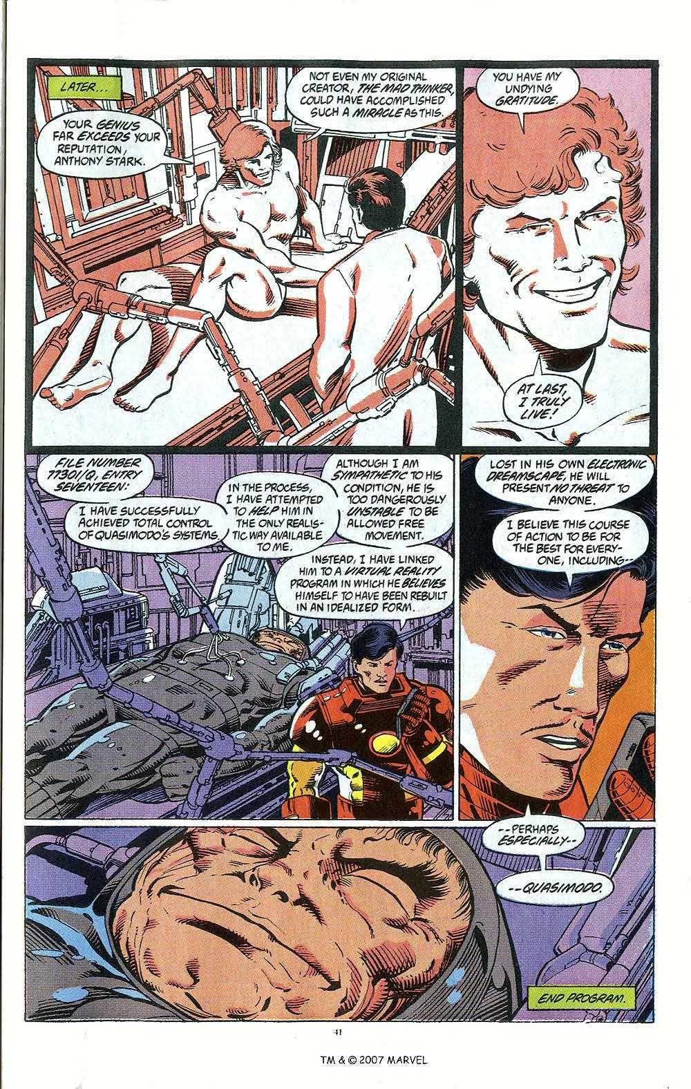 Iron Man Annual issue 12 - Page 43