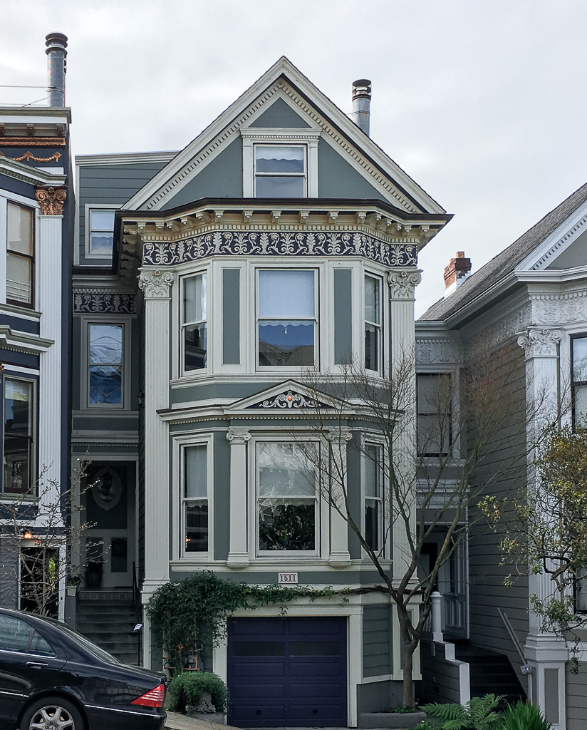 2,400 Square Foot 4 Bedroom 4 Bath Queen Anne Victorian Duplex Built Around  1900. Renovations Include A Horizontal Addition In 1999 At A Cost Of $200K.  Last ...