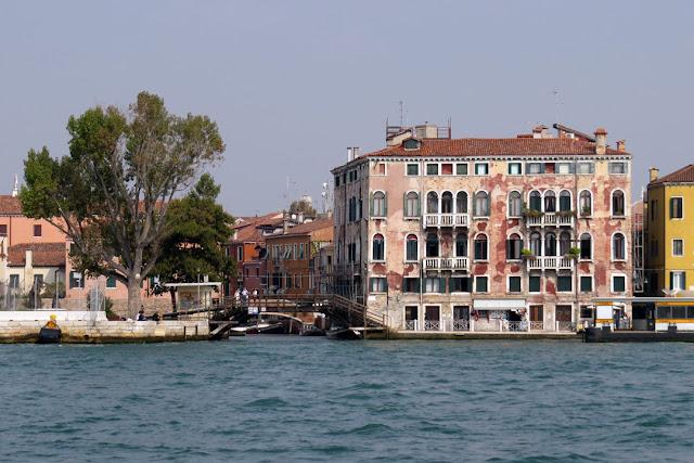 Palazzo Molin a San Basegio seen from the Giudecca Canal, Fondamenta Zattere al Ponte Lungo, Dorsoduro, Venice