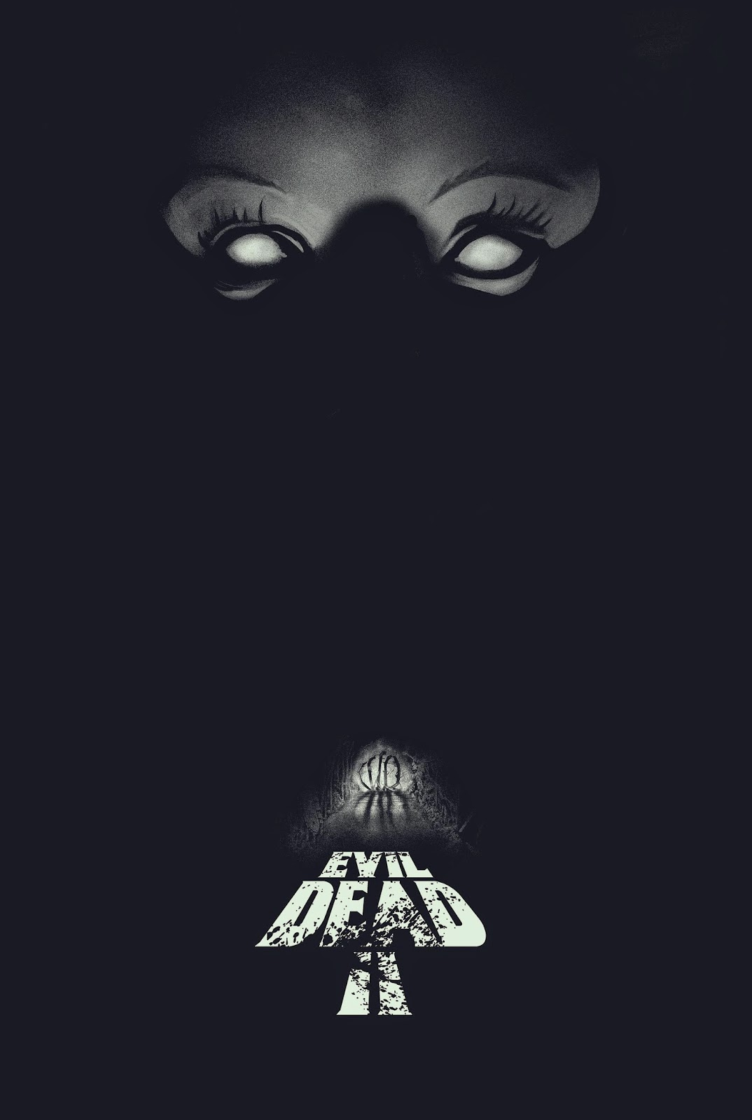 inside the rock poster frame blog gary pullin evil dead 2 movie