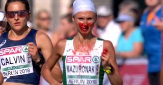Κέρδισε το χρυσό με αιμορραγία στην μύτη της στο ευρωπαϊκό πρωτάθλημα στίβου