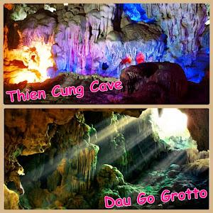 Cantiknya penampakan dari batu-batu stalaktit stalagmite