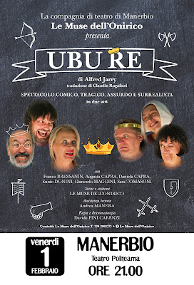 ubu re le muse dell'onirico politeama manerbio