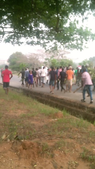 FUTO students in protest over school fees increase