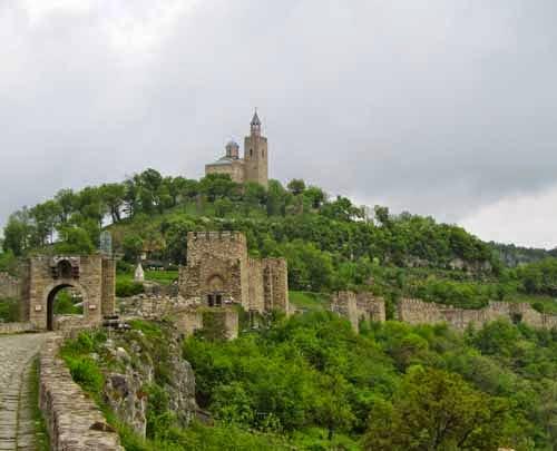 Tsarevets Fortress Veliko Tarnovo Bulgaria