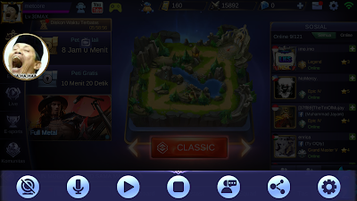 cara live streaming mobile legends ke youtube dan facebook