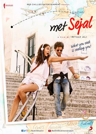 Poster Of Bollywood Movie Jab Harry met Sejal 2017 300MB Pdvd Full Hindi Movie