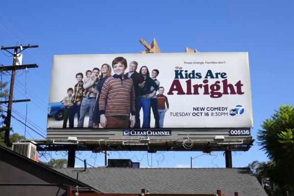 Kids are Alright series premiere billboard
