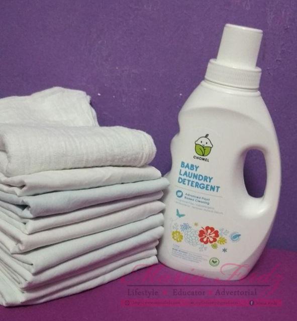 Sabun Pencuci Baju Chomel Selamat Untuk Kulit Bayi Sensitif