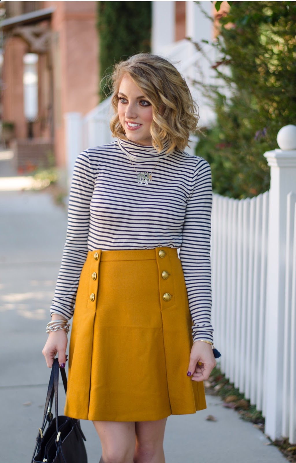 Navy + Yellow