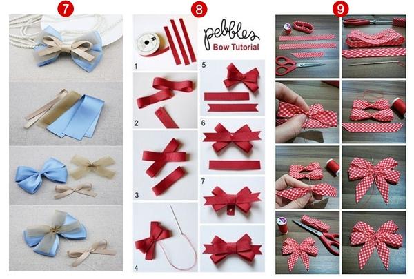 Laços incríveis para ajudar na inspiração de confeccionar tiaras