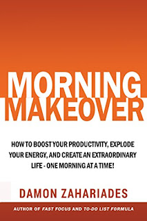 Morning Makeover - a how-to guide for creating quality morning rituals by Damon Zahariades