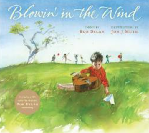 Blowin' in the wind:  A great picture book for the music room! Blog post includes other great picture books!