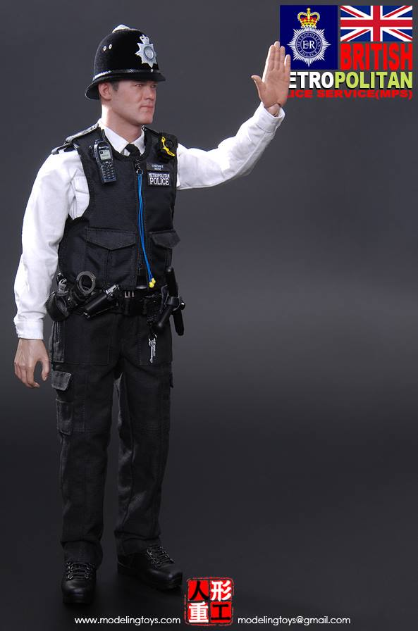 Police Radio Mic >> toyhaven: Modeling Toys 1/6th scale Military Series: British Metropolitan Police Service (MPS ...