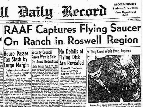 The Roswell Slides Revealed: Controversy Follows