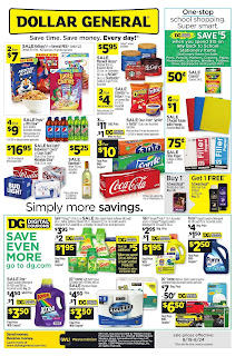 ⭐ Dollar General Ad 8/18/19 and 8/25/19 ✅ Dollar General Weekly Ad August 18 2019