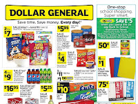 Dollar General Ad August 25 - 31, 2019 and 9/1/19 Ad Preview